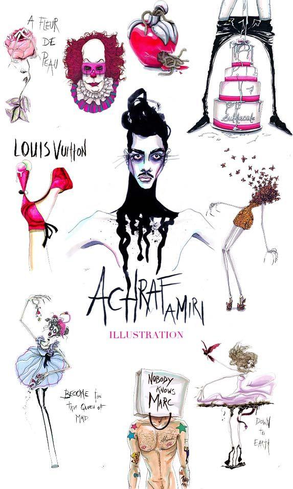 84fc600f74685 Achraf Amiri é um jovem artista ilustrador, belga de 22 anos. Estudou em  Sint