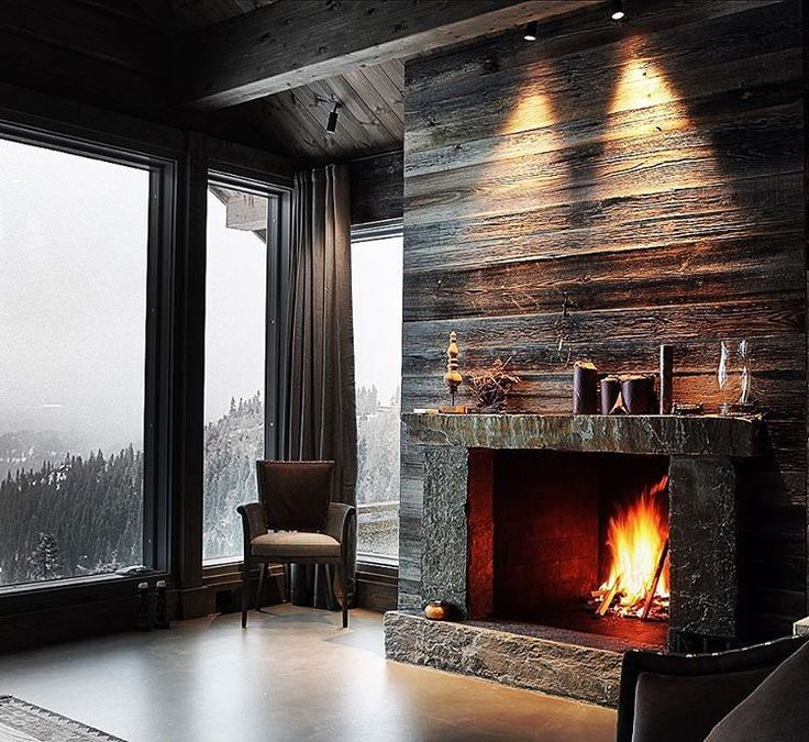 1000+ images about The Cabin on Pinterest | Montana, Great rooms and Stone fireplaces