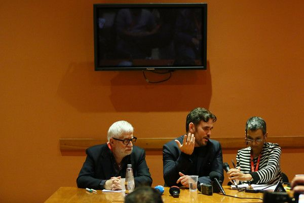 Matt Dillon Photos Photos - Matt Dillon (C) attends a press conference during the 11th Rome Film Festival at Auditorium Parco Della Musica on October 18, 2016 in Rome, Italy. - Matt Dillon Press Conference - 11th Rome Film Festival