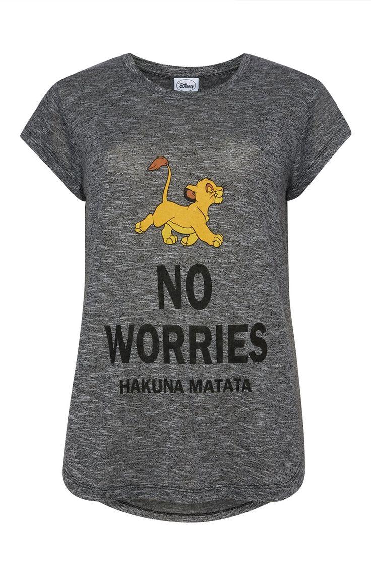 Primark - Grey Lion King T-Shirt £8