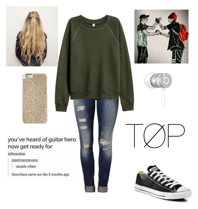 """""""Untitled #262"""" by egabest on Polyvore featuring Mavi, Converse, Michael Kors and Beats by Dr. Dre"""