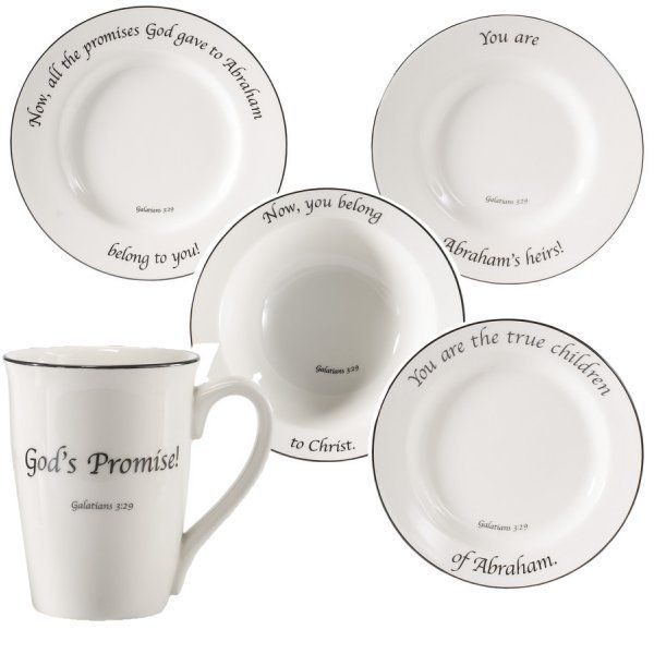 Unique tableware | Feed the Word unique Scripture dinnerware collection. Each place .  sc 1 st  Pinterest & 15 best Feed on the Word images on Pinterest | Dinner ware Utensils ...