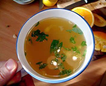 herbatka imbirowa