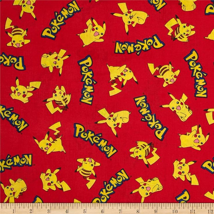 Poke'mon & Words Flame from @fabricdotcom  Licensed by Nintendo for Robert Kaufman, this cotton print fabric is perfect for quilting, apparel and home decor accents. Colors include black, blue, brown, pink, shades of red, and shades of yellow.