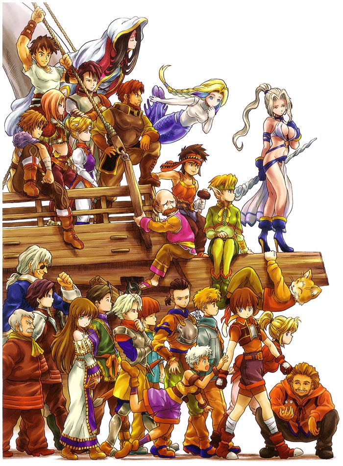 Suikoden IV - Cute Characters Artwork