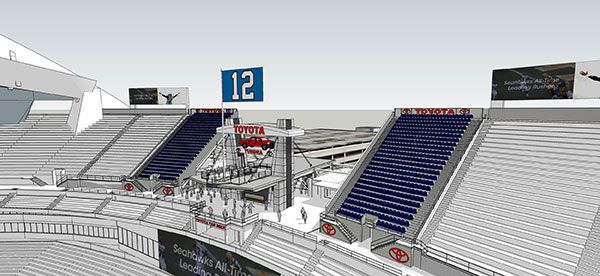 Seahawks adding 1,000 seats to CenturyLink Field - , the ‪#‎12Flag‬ will be larger & also raised from a high platform.