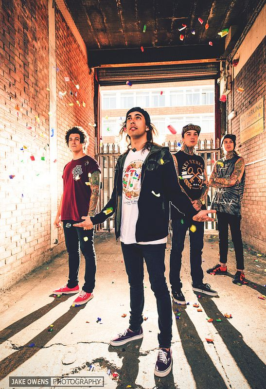 Pierce The Veil maybe competition for our band being in the same genre we wish to market them in the same circles.