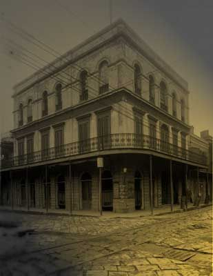 Lalaurie Mansion in New Orleans. Supposedly the most haunted place in the most haunted city in the USA. Oooh!