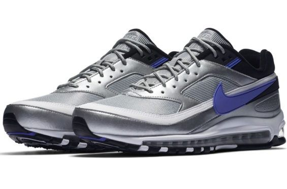 514034e2d1d Nike Air Max 97 BW Metallic Silver Persian Violet Coming Soon