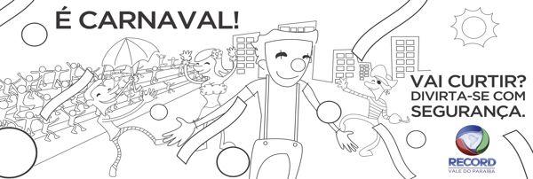 É carnaval - Rede Record - Propaganda on Behance
