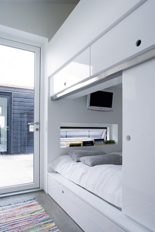 Small Space #Alcove Beds