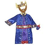 King Costume for Oliver's nativity - Sainsbury's £10