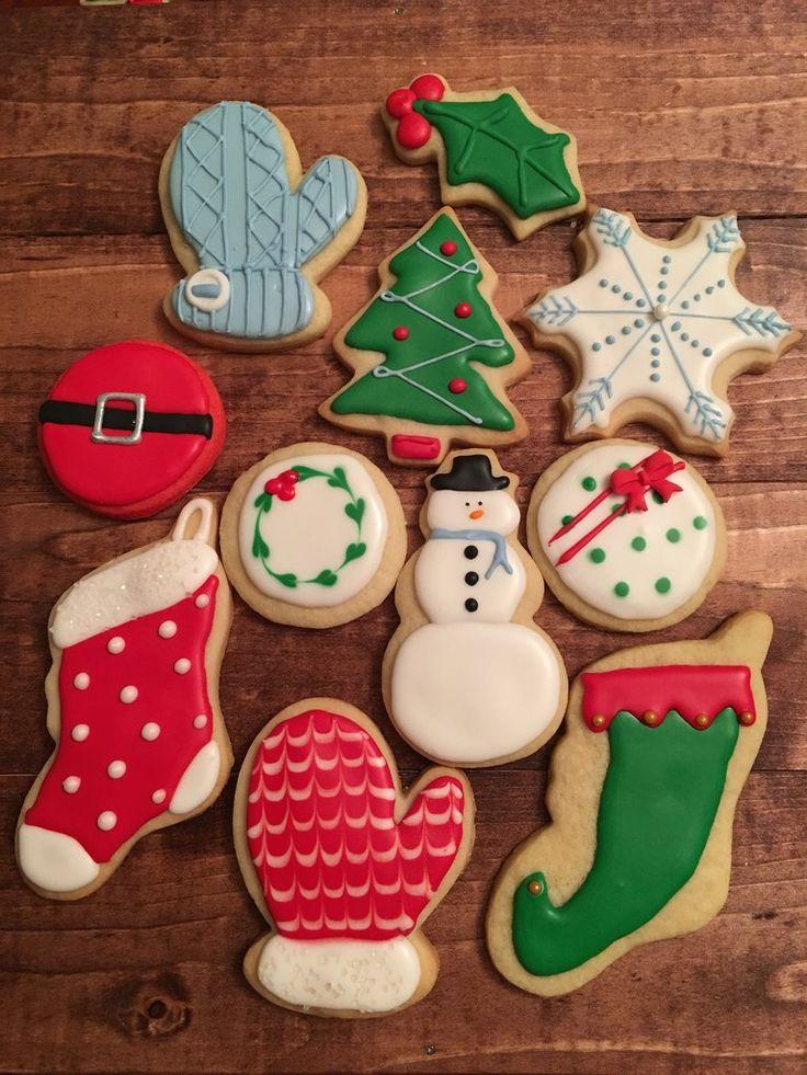 Christmas Variety Cookies in 2020 Xmas cookies