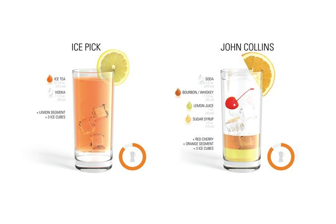 <p>Last February we introduced you to the Cocktail posters of Brazilian graphic designer Fabio Rex, here is a similar project by German student Konstantin Datz. With beautiful infographics he illustrates the ultimate collection of the 35 most common cocktails, also available as a poster. They also created an awesome iPhone app available for $1.99 on…</p>