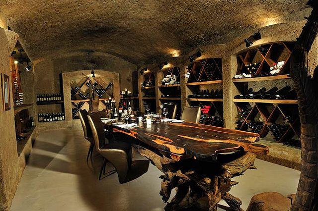 Earth Lodge  Wine Cellar by Sabi Sabi Private Game Reserve, via Flickr
