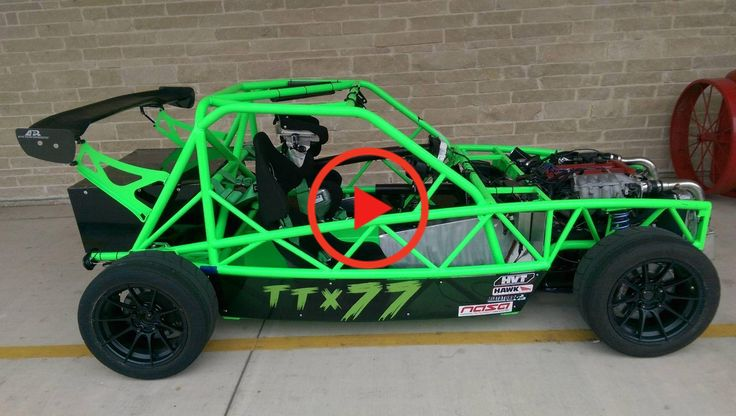 Supercharged Exomotive Exocet Sport Track ready! Miata