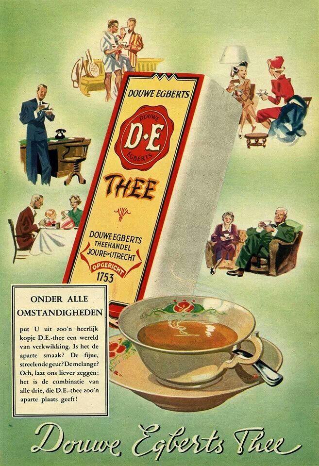 Douwe Egberts thee