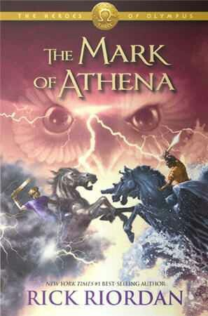 The Mark of Athena by Rick Riordan FIRST READ: 1.The Lightning Thief 2.The Sea of Monsters 3.The Titan's Curse 4.The Battle of the Labyrinth 5.The Demigod Files(extra book) 6.The Last Olympian 7.The Lost Hero 8.The Son of Neptune 8.The Demigod Diaries