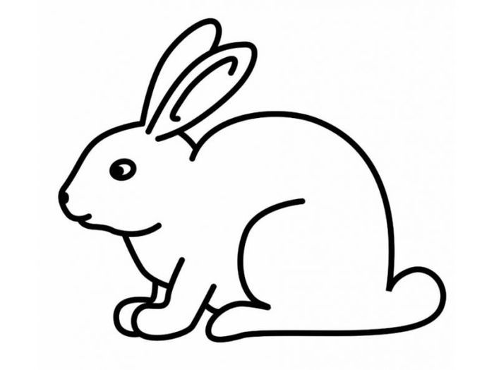 Rabbit Coloring Pages In 2020 Bunny Coloring Pages Bunny