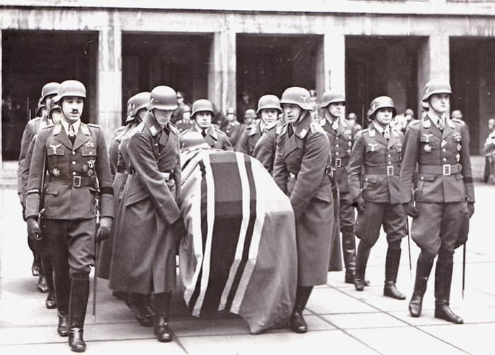 Ernst Udet funeral ceremony Adolf Galland Günther Lützow Walter Storp