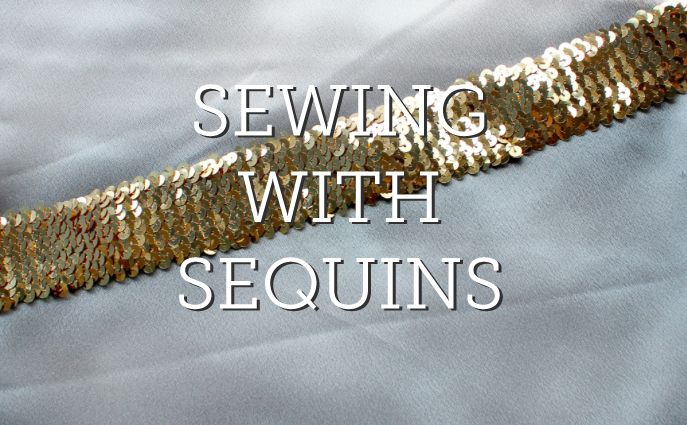 flitterek  varrása---Check out these helpful tips on sewing with sequins on the Craftsy Blog and get started with your next shiny project!