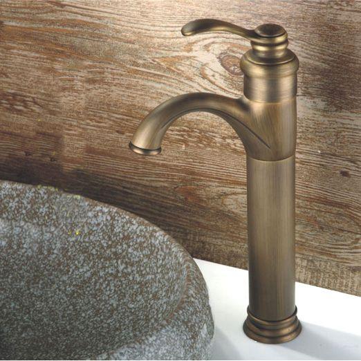 L17251 - Luxury Deck Mounted Bronze Finish Brass Wash Basin Tap #Affiliate