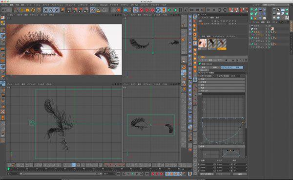 グラフィック広告のデジタルレタッチテクニック