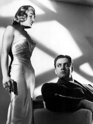 Pitfall, Lizabeth Scott, Raymond Burr, 1948, Gun Premium Poster