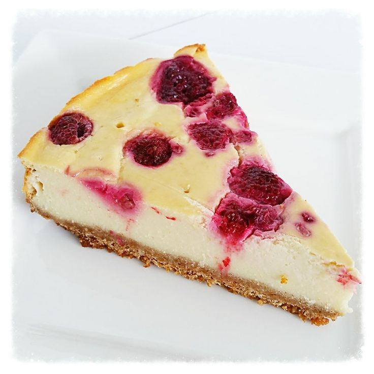 gezonde cheesecake citroen en framboos