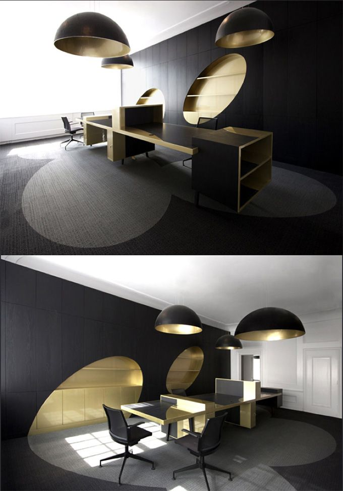Cool Interior Office Designs With Plants: 25+ Best Ideas About Ceo Office On Pinterest