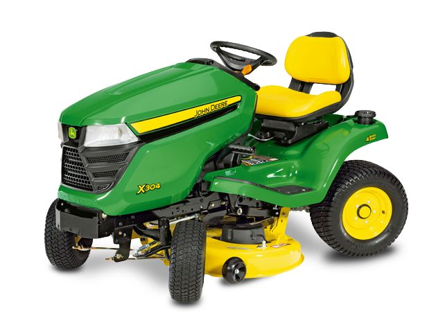 John Deere X304 Lawn Tractor | See lowest prices,Review,Test // John Deere X304 is the best garden tractor available.It's likewise a standout amongst the most costly out there, it has a peaceful motor.See prices of parts...