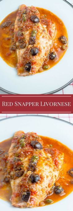 Red Snapper Livornese