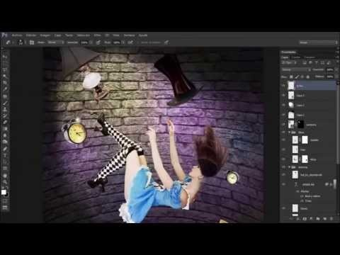 Alice - Speed Art Photoshop