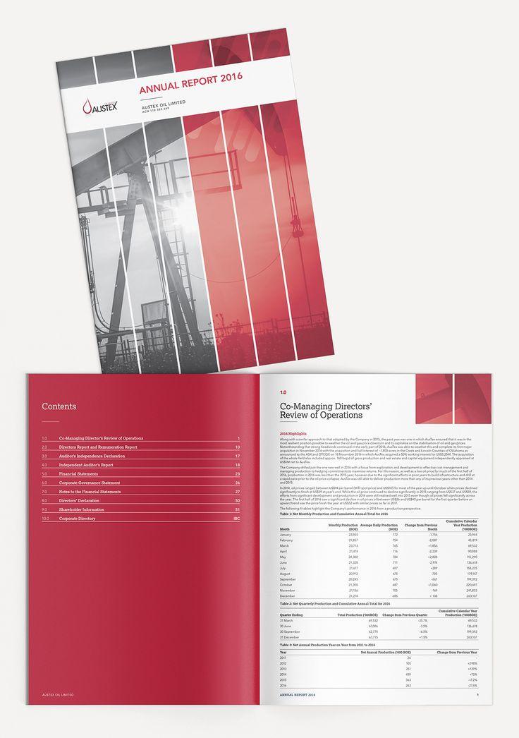 Austex Oil - 2016 Annual Report