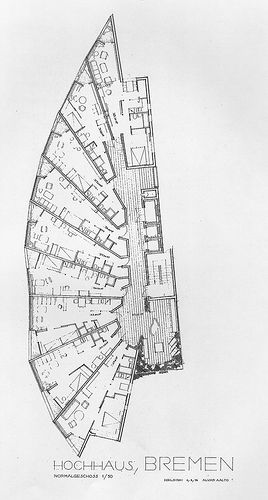 Aalto Plan , Apartment house Bremen
