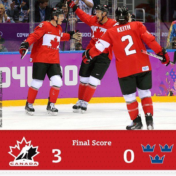Final:Canada vs Suède