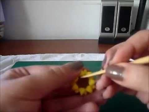 tutorial girasole thun - YouTube