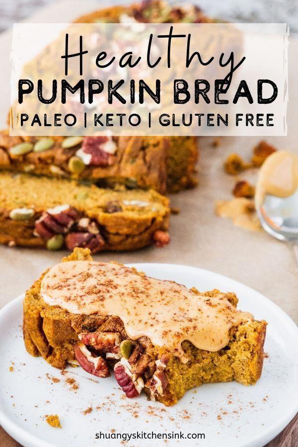 Healthy Pumpkin Bread Video Shuangy S Kitchen Sink Recipe Healthy Pumpkin Bread Paleo Pumpkin Bread Pumpkin Bread