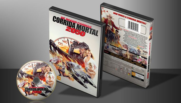 Corrida Mortal 2050 - Capa | VITRINE - Galeria De Capas - Designer Covers Custom | Capas & Labels Customizados
