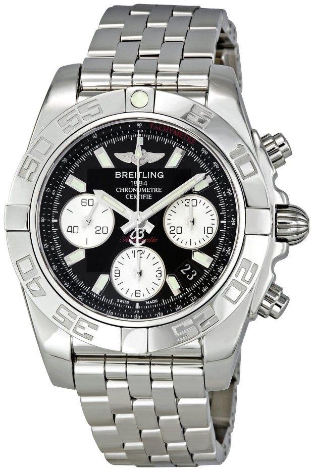 Men watches : Breitling Men's AB014012/BA52 Chronomat Chronograph Watch