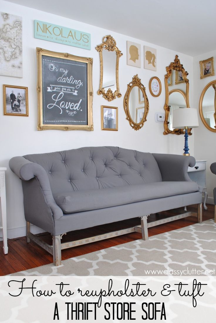 25 best reupholster couch ideas on pinterest 2x4 for How to reupholster furniture diy