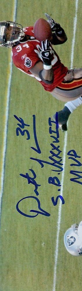 Dexter Jackson.Super Bowl XXXVII MVP. Int:2