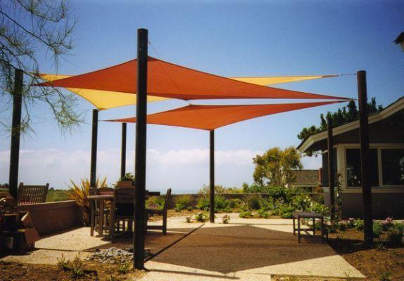 Sun Shade Patio Covers Backyard