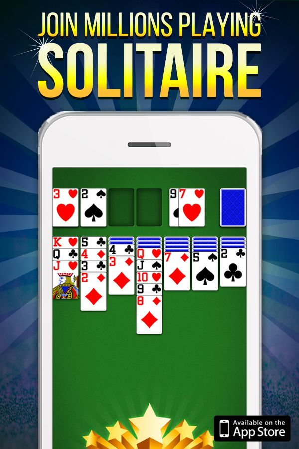 Play by yourself or challenge other players in real-time. Solitaire can deal the same hand to multiple players so you can compete against each other. Play with your friends or test your solitaire strategy against a completely random player. Download today!