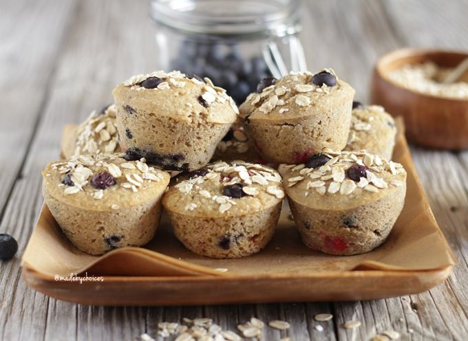 Muffins de mirtilos | Blueberry muffins