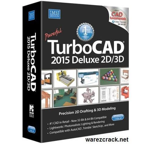 TurboCAD Deluxe 2015 Full Crack is the Powerful, Complete 2D/3D CAD Software…