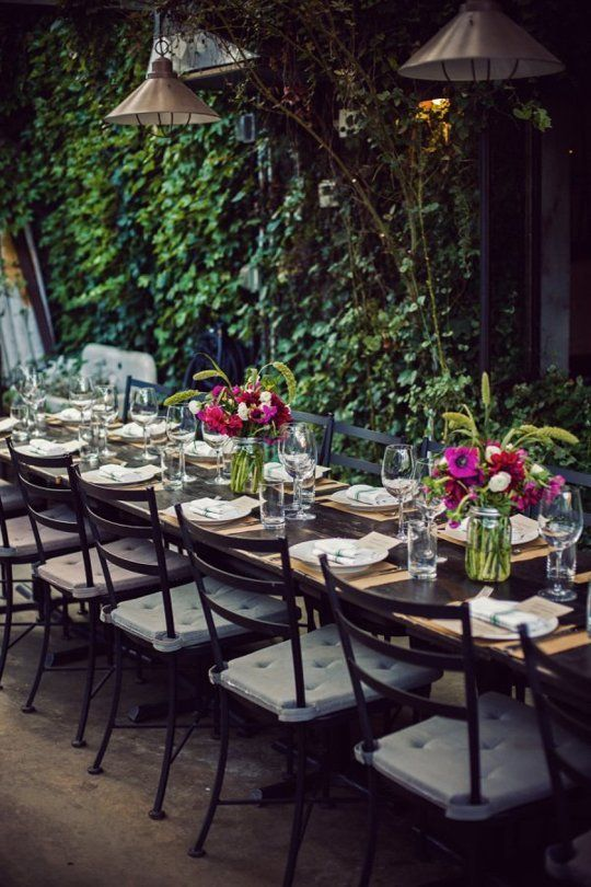 Restaurant Wedding Inspiration & Advice | Apartment Therapy