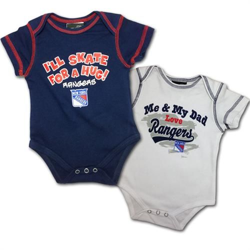 d34c1c6e505 ... infant Featuring two unique designs, this set is made from cotton and  comes in NY Rangers ...