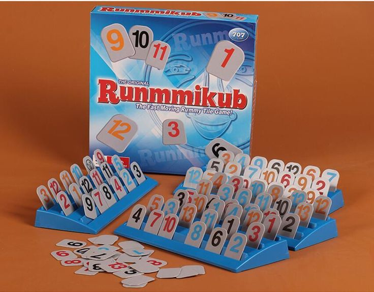 [Visit to Buy] Free shipping Classic Board Game Israel mahjong Rummikub Box version the fast moving rummy tile game toys Bulygames #Advertisement