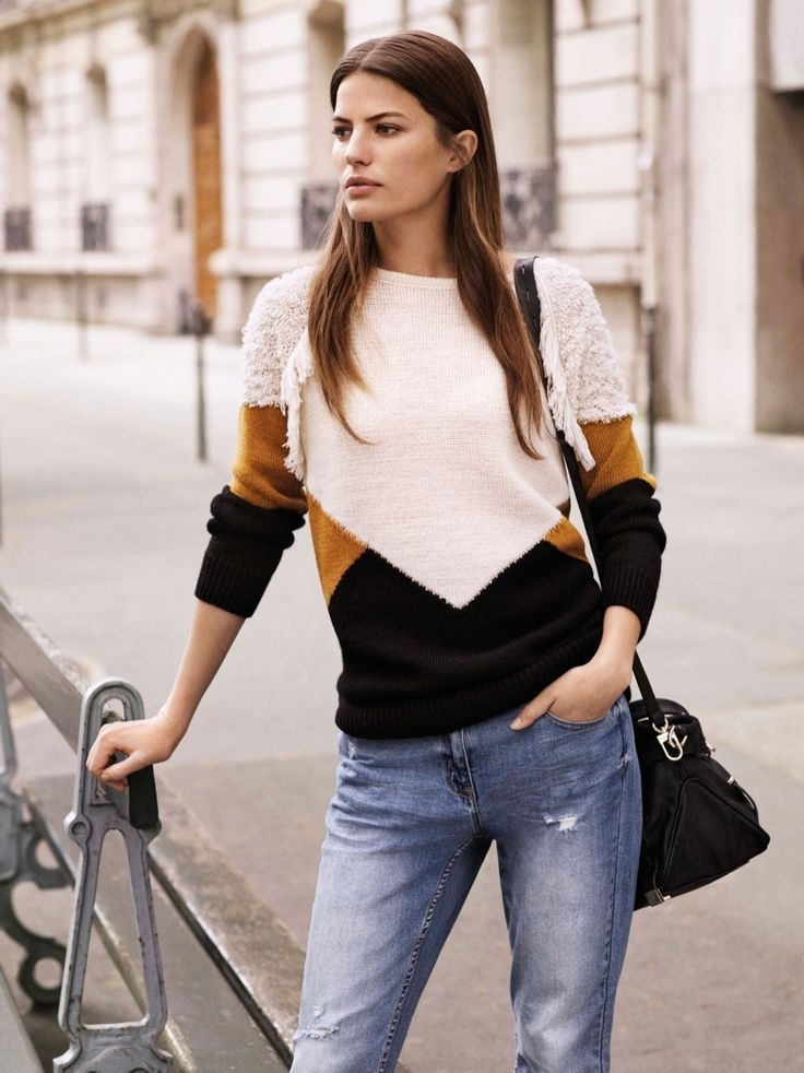 Cameron Russell Wears Fall Essentials from Next - Fashion Gone Rogue